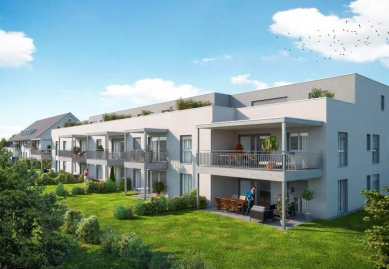 21 Wohnungen, Gewerberaum und Einstellhalle in Kappel SO